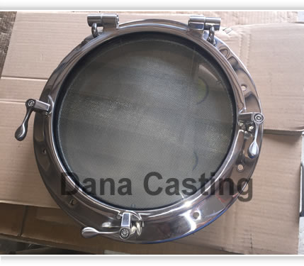 Stainless steel porthole for yacht